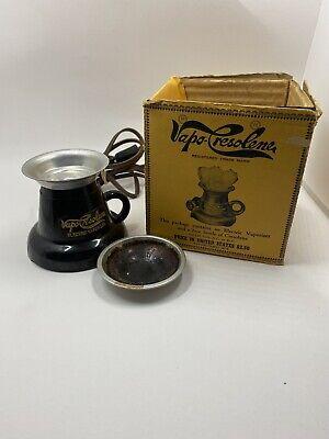 Vintage/Antique Vapo-Cresolene Co. Style Electric Vapor Inhalent