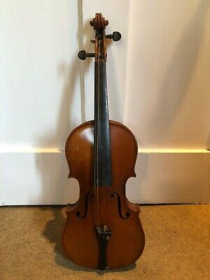 Antique Violin Unrestored Circa 1900
