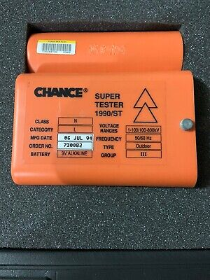 Ab Chance Co. Type Outdoor Chance Super Tester Model 1990st 1990st