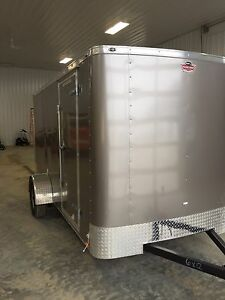 2016 6x12 enclosed work trailer