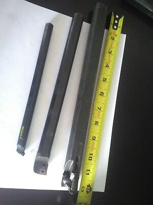 Lot Of 3 Indexable Boring Bar Kennametal 2 Others