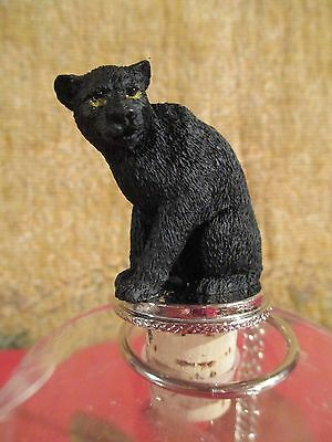 PANTHER  WINE STOPPER