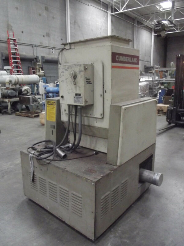 Cumberland Model 684 27 Hp Grinder / Granulator   Lot 002