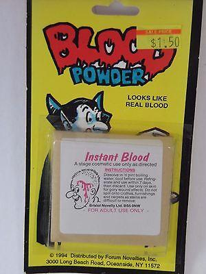 Trick Or Treat Jokes Halloween (Instant Blood Fake Blood Powder Joke Prank Halloween Party Trick Or Treat)