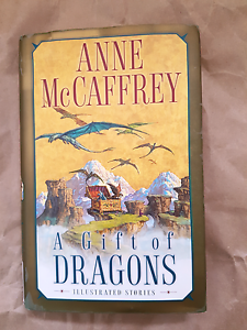 A Gift of Dragons (illustrated stories) by Anne McCaffrey Macquarie Fields Campbelltown Area Preview