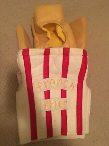 Pottery Barn Kids  French Fries Halloween Costume
