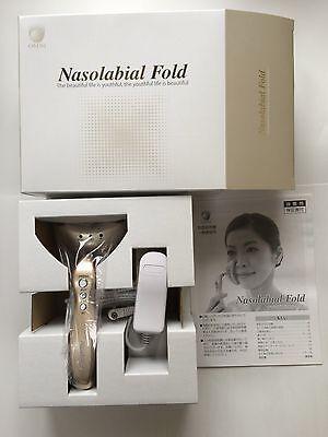OMNI Nasolabial Fold Care Iron Massager YMO-93ES Anti Aging beauty tool Japan
