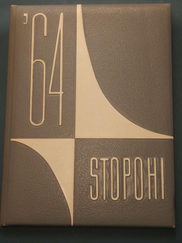 1964 Stopohi Stony High School YearBook Stony Point, North Carolina