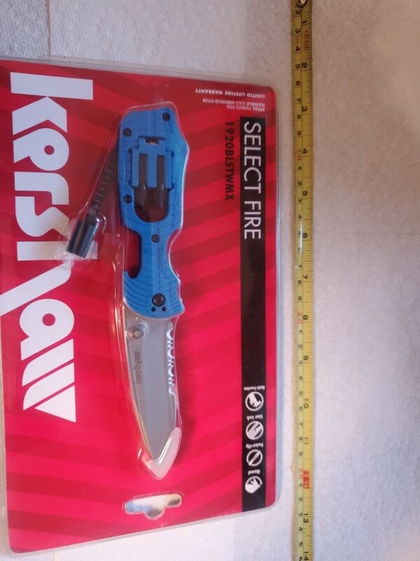 Kershaw Select Fire 1920BLSTWMX never opened