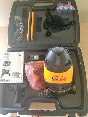 Cst Cstberger 58-lm54e Laser Mark Lm-54 Lm 54 Laser Level System