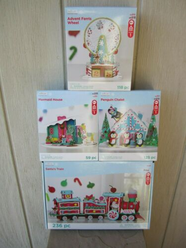 NEW CREATOLOGY CHRISTMAS CRAFT KITS HOLIDAY FOAM DECORATION SETS FUN FOR ALL!