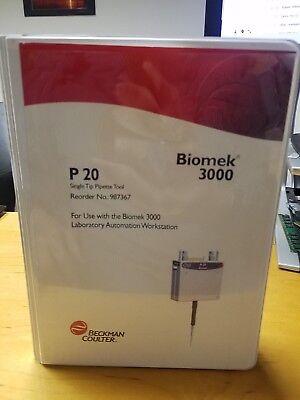Beckman Coulter Biomek 3000 P20 Single Tip Pipet Tool 987367