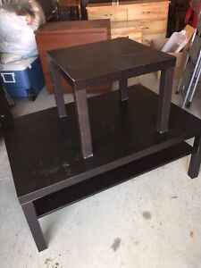 Black Coffee and end table