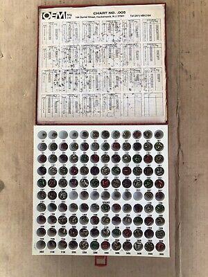 Oem Mfg Chart .005 Locksmith Pin Kit American Lick Supply Inc