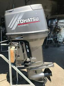 70hp Tohatsu outboard Southport Gold Coast City Preview