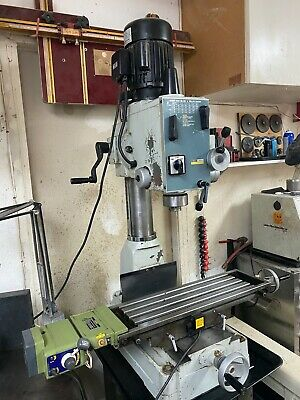 Acra Rf-40n2f Gear Head Millingdrilling Machine With Power Down Feed And Y Axis