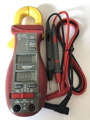 Amprobe Acd-14 Digital Clamp Meter400a40 Mohms Used Condition But Excellent