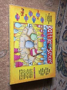 Battle of the sexes board game Sefton Park Port Adelaide Area Preview