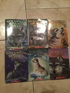 Wolves of the beyond books