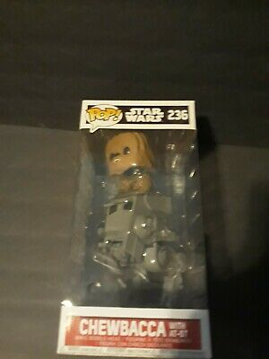 Funko Pop! #236 Star Wars: Chewbacca With AT-ST