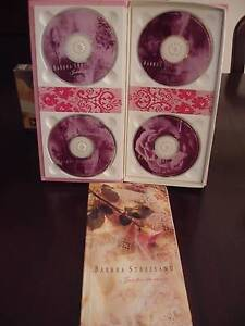 """Barbara Streisand Boxed CDs """"Just for the Record"""" Mount Annan Camden Area Preview"""