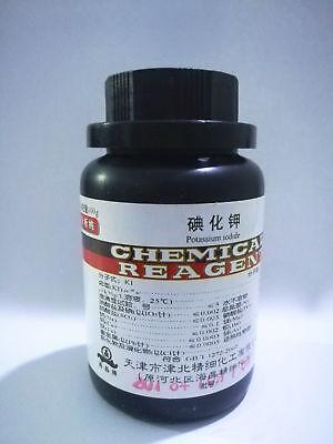 1pcs Potassium Iodide Crystal Ki Reagent 100g Ar Grade
