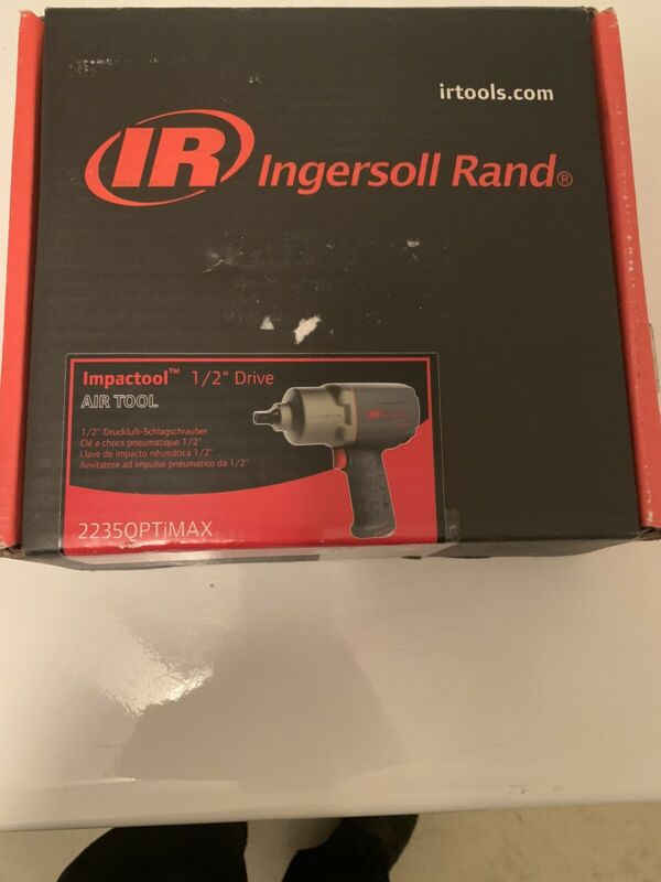 NEW Ingersoll Rand 2235QPTiMAX  1/2 drive Pneumatic Impact Wrench.