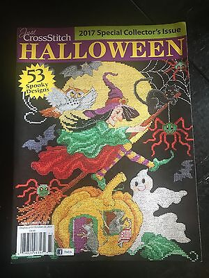 Just Cross Stitch HALLOWEEN 2017 Special Issue - Cross Stitch Halloween Magazine 2017