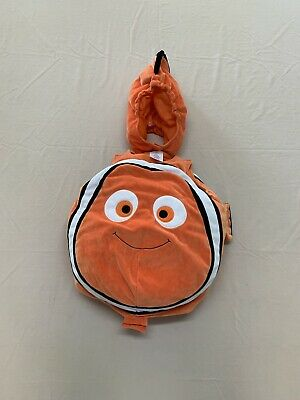 Disney Store Finding Nemo Plush Nemo Toddler Halloween Costume-size 6-12 Months