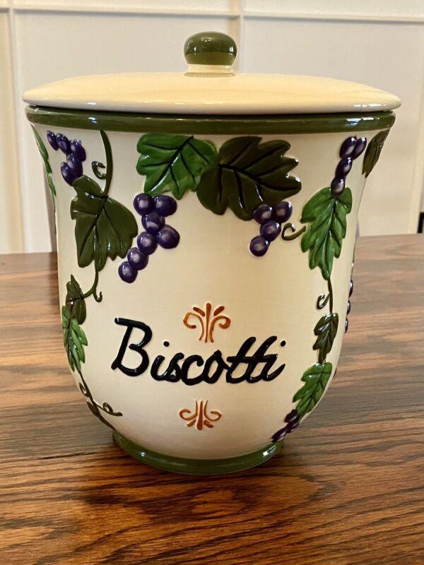 Nonni's Biscotti Jar
