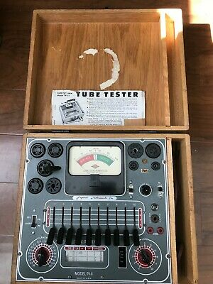 Superior Tv-11 Tube Tester Completely Rebuilt And Calibrated