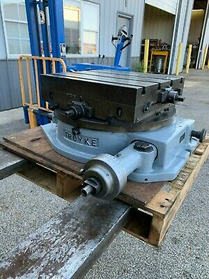 Troyke Rotary Table Dmt18 - Lot 1056