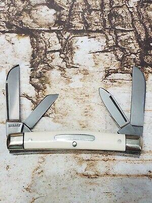 Vintage Solingen Germany Holley Bar Shield Congress Pocket Knife