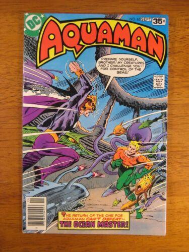 Wow! AQUAMAN #63 (VF+/NM-) Nice! Super-Bright, Colorful & Glossy!