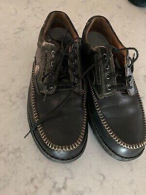 Clarks  Un Mens Oxford Lace Shoes Size 10.5 M Black 16732 Casual