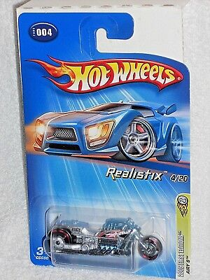 Hot Wheels 2005 First Editions Realistix 4 / 20 Airy 8 Silver