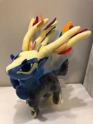 """Pokemon Center 2013 Nintendo Game Freak 11"""" Xerneas Plush Toy Genuine"""