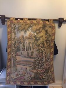 Wall needlepoint tapestry