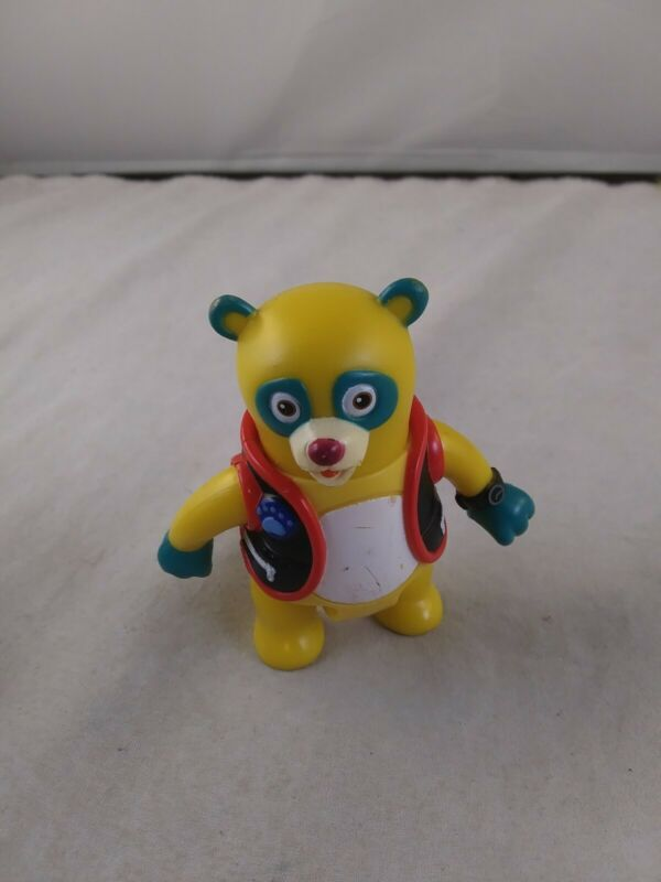 Special Agent OSO Yellow Panda Bear Figure *EE12