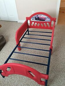 Cars lightning mcqueen and mater bed frame