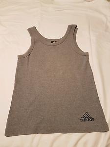 Grey Adidas womens sport singlet Varsity Lakes Gold Coast South Preview