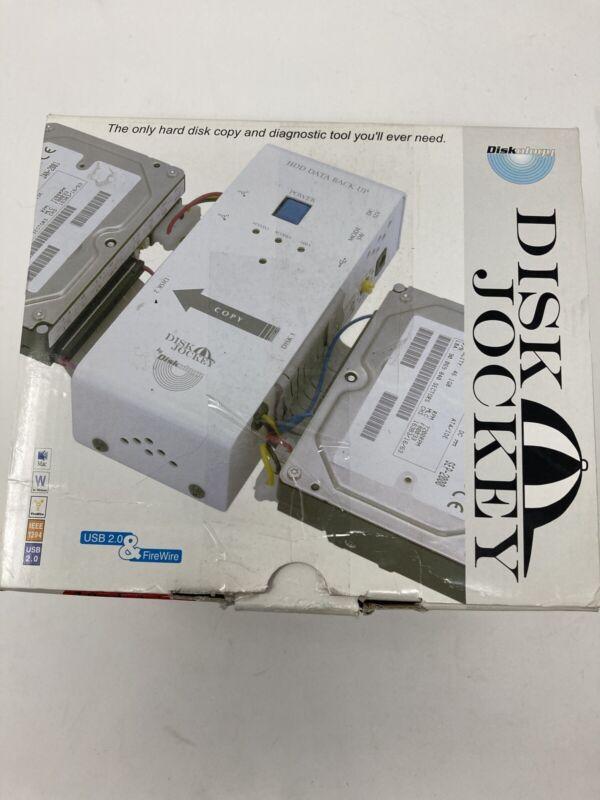 Diskology Disk Jockey Hard Drive Duplicator Repair 7-in-1 HDD Tech Forensic Tool