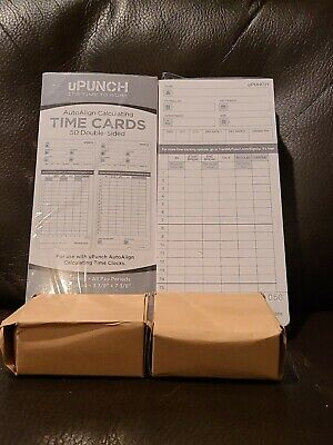 Upunch 2 Pack Ribbon200 Card Combo For Gray Hn4000 Autoalign Calculating Time