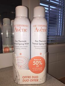 Eau thermale AVÈNE thermal water