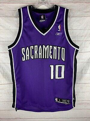NBA Reebok Sacramento Kings Mike Bibby swingman jersey size men's large
