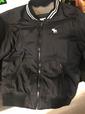 Abercrombie Fitch Spring Fall Lined Jacket M Blue