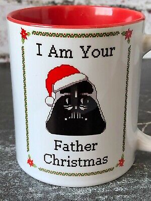 Star Wars Christmas Mug Darth Vader Funny Christmas Gift For Men Cup For Him ()
