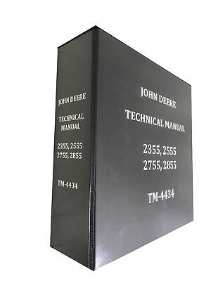2555 John Deere Technical Service Shop Repair Manual