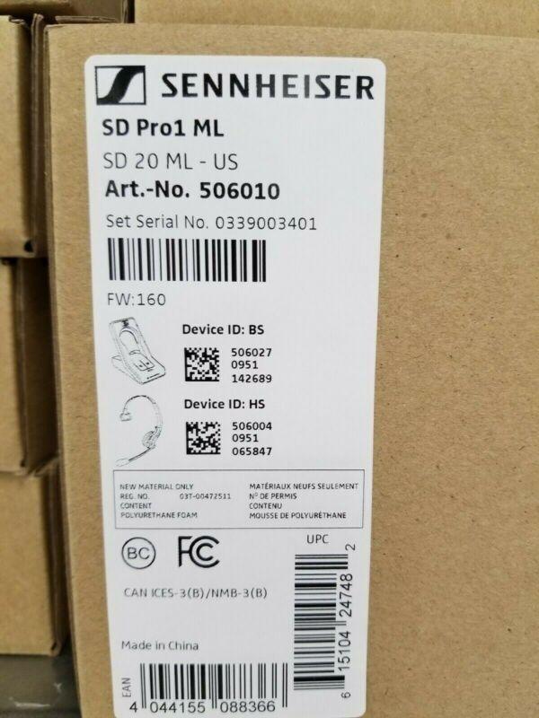 NEW IN BOX Sennheiser SD Pro 1 ML (506010).