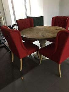 Table and 4 chairs Claremont Nedlands Area Preview